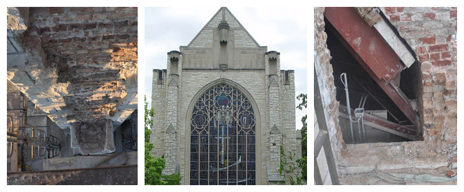 Northwestern University; Alice S. Millar Chapel: BTC Addresses Unforeseen, Concealed Conditions to Complete Facade Repairs